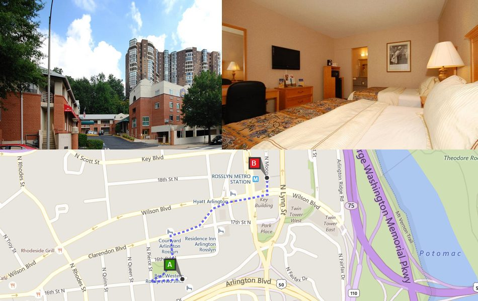 Best Western Near Rosslyn Metro