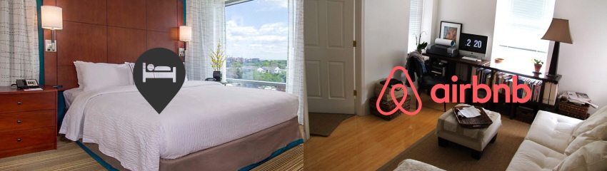 airbnb vs hotels in Washington, DC